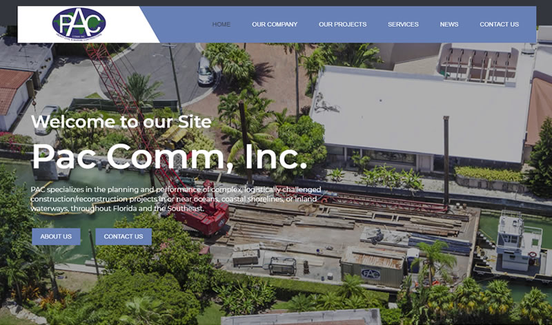 Miami Web Design Company - Mackey Web Design Portfolio